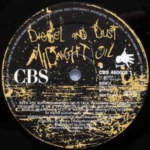 Midnight Oil: Diesel And Dust (LP) - Bild 3