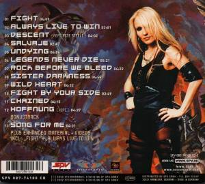 Doro: Fight (CD) - Bild 2