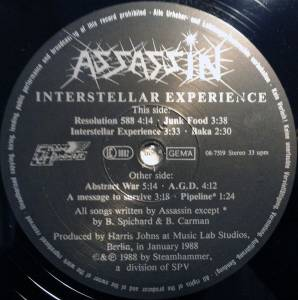 Assassin: Interstellar Experience (LP) - Bild 5