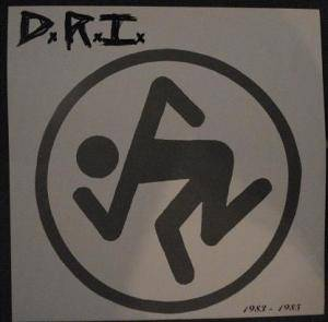 D.R.I.: 1983-1985 - Cover