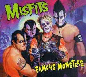 Cover - Misfits: Famous Monsters