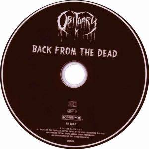Obituary: Back From The Dead (CD) - Bild 3