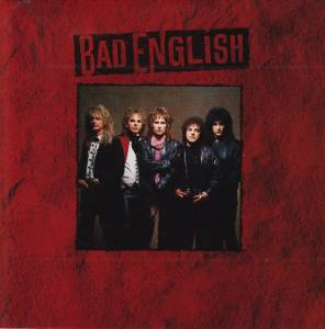 Bad English: Bad English - Cover