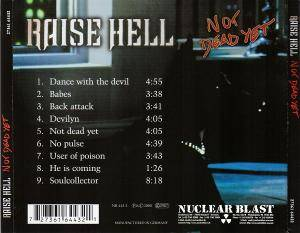 Raise Hell: Not Dead Yet (CD) - Bild 3