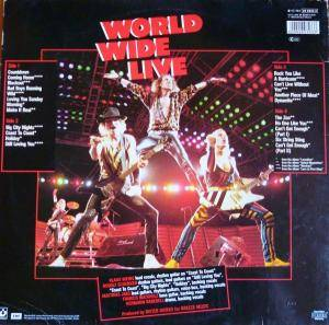 Scorpions: World Wide Live (2-LP) - Bild 3