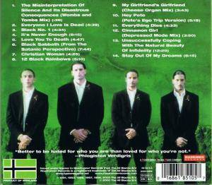Type O Negative: The Least Worst Of Type O Negative (CD) - Bild 2
