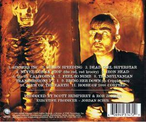 Rob Zombie: The Sinister Urge (CD) - Bild 2