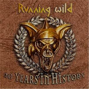 Running Wild: 20 Years In History - Cover