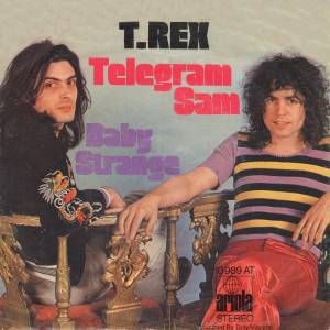 T. Rex: Telegram Sam - Cover