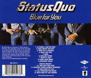 Status Quo: Blue For You (CD) - Bild 6