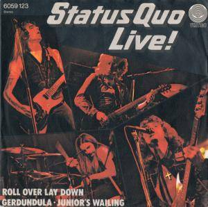 Status Quo: Roll Over Lay Down - Cover