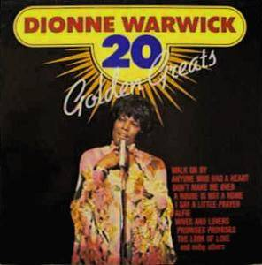 Cover - Dionne Warwick: 20 Golden Greats