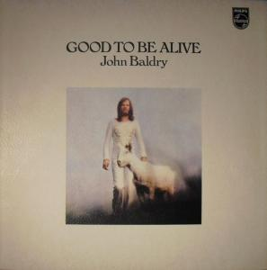 Long John Baldry: Good To Be Alive - Cover