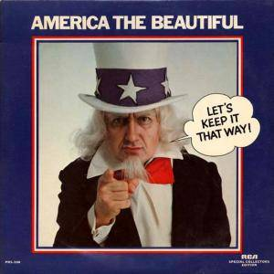 America The Beautiful - Let's Keep It That Way! - Cover