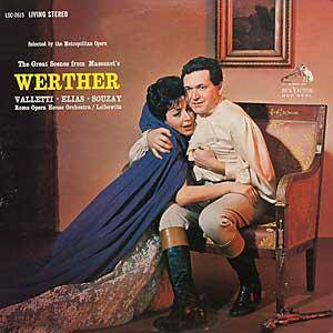 Cover - Jules Massenet: Werther - Great Scenes