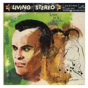 Cover - Harry Belafonte: Love Is A Gentle Thing