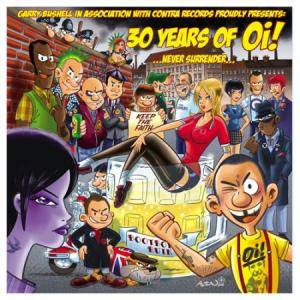 30 Years Of Oi! - ...Never Surrender... - Cover