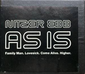 Nitzer Ebb: As Is - Cover