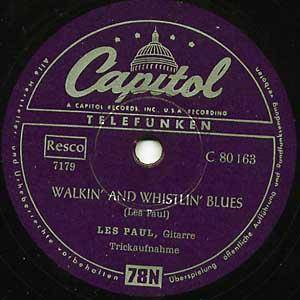 Cover - Les Paul: Walkin' And Whist'lin Blues