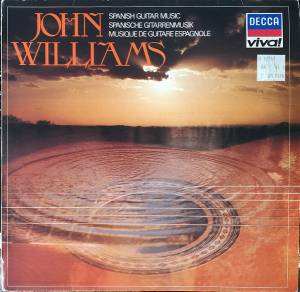 Cover - John Williams: Spanish Guitar Music / Spanische Gitarrenmusik / Musique De Guitare Espagnole
