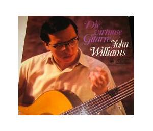 Cover - John Williams: Virtuose Gitarre, Die