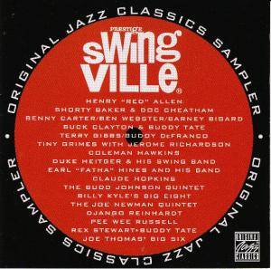 Cover - Claude Hopkins: Swingville Original Jazz Classics Sampler