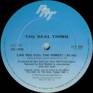 "The Real Thing: Can You Feel The Force? (12"") - Bild 3"
