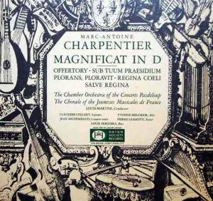 Cover - Marc-Antoine Charpentier: Magnificat In D - Antiphons - Salve Regina