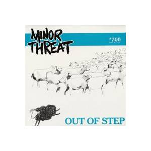 Minor Threat: Out Of Step - Cover