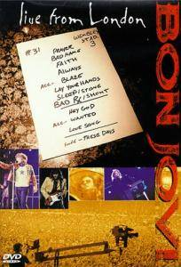 Bon Jovi: Live From London - Cover