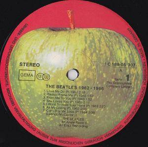 The Beatles: 1962-1966 (2-LP) - Bild 3