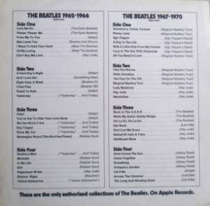 The Beatles: 1962-1966 (2-LP) - Bild 9
