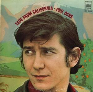 Cover - Phil Ochs: Tape From California