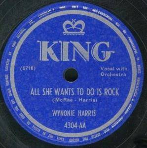 Cover - Wynonie Harris: All She Wants To Do Is Rock