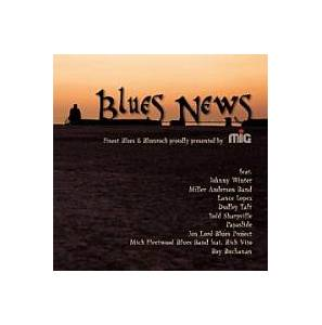 Cover - Todd Sharpville: Blues News