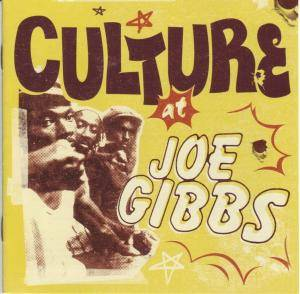 Culture: At Joe Gibbs - Cover