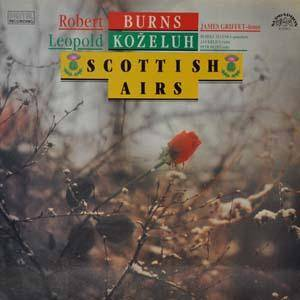 Cover - Leopold Koželuh: Scottish Airs
