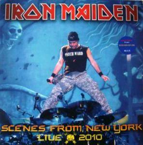 Iron Maiden: Scenes From New York Live 2010 - Cover