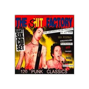 Shit Factory: Greatest Punk Swindle, The - Cover