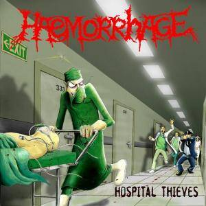 Cover - Gruesome Stuff Relish: Hospital Thieves / Horror Will Hold You Helpless