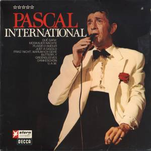 Cover - Jean-Claude Pascal: Pascal International