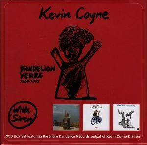 Cover - Kevin Coyne: Dandelion Years 1969-1972 (With Siren)
