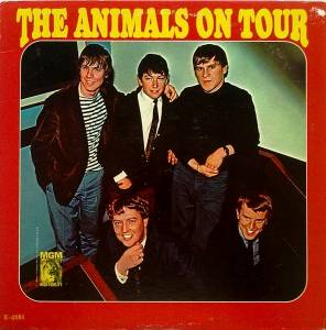 Cover - Animals, The: Animals On Tour, The