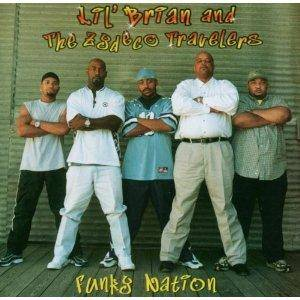 Cover - Li'l Brian & The Zydeco Travelers: Funky Nation