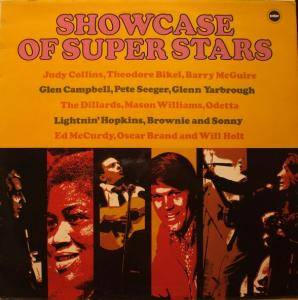 Cover - Barry McGuire & The Sherwood Singers: Showcase Of Super Stars
