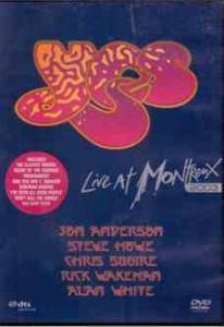 Yes: Live At Montreux 2003 - Cover