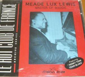 Cover - Meade Lux Lewis: Master Of Boogie