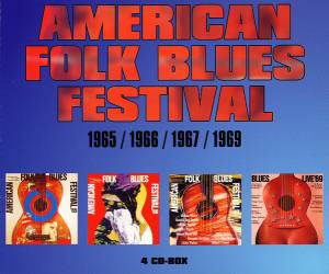 Cover - Doctor Ross: American Folk Blues Festival 1965/1966/1967/1969