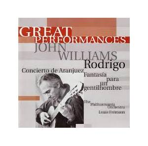 Cover - John Williams: Great Performances - Joaquín Rodrigo