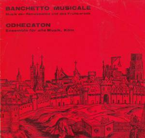 Cover - Heinrich Isaac: Banchetto Musicale